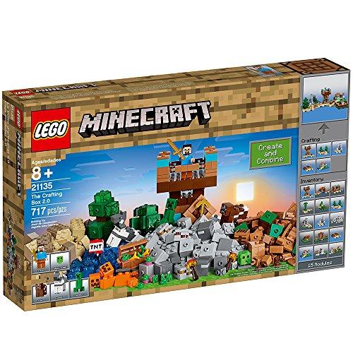 61wSTB3NrmL - LEGO Minecraft the Crafting Box 2.0 21135 Building Kit (717 Piece)