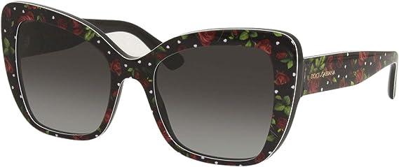 : Dolce & Gabbana DG4348 Print RosesHeartsGrey