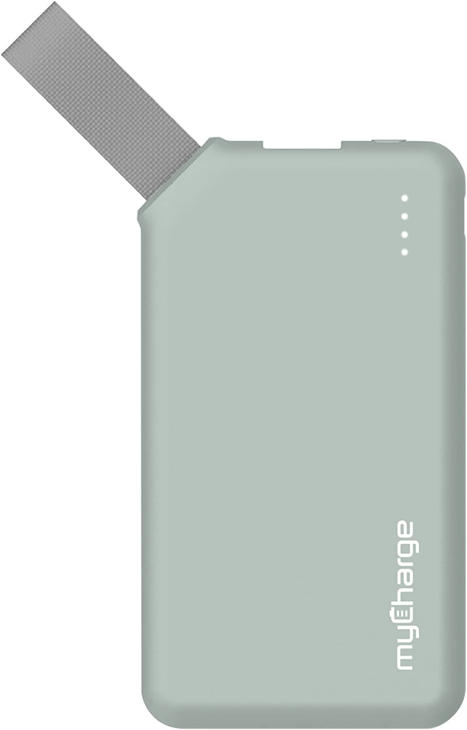 myCharge GO Mini Portable Charger 2600mAh External Battery Pack Power Bank for Cell Phones (Apple iPhone XS, XS Max, XR, X, 8, 7, 6, SE, 5, Samsung Galaxy, LG, Motorola, HTC, Nokia, Blackberry) Green