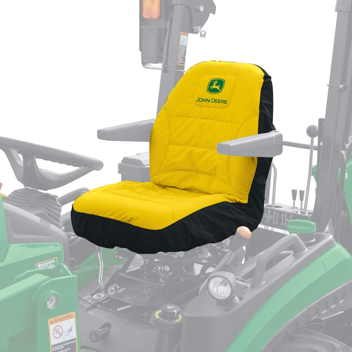 John Deere Seat Cover - Cut (1025 & 2025) LP68694 by John Deere