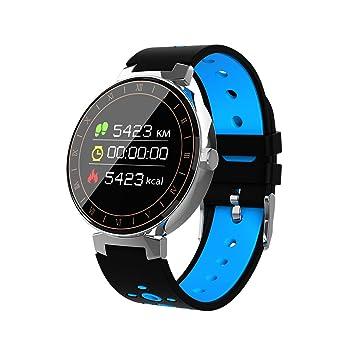 UKCOCO L8 Reloj Inteligente Presión Arterial de Oxígeno Monitor de ...