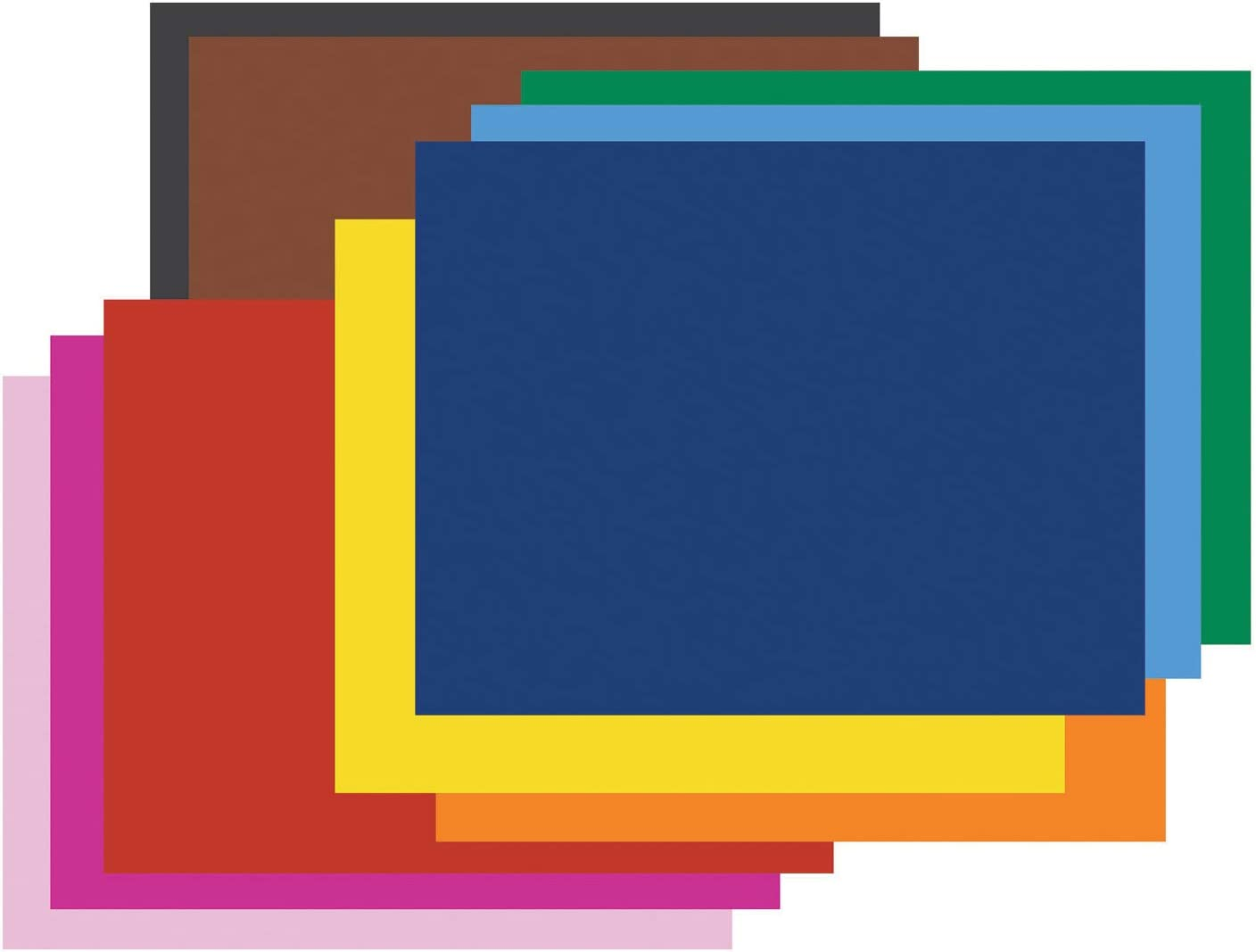 Assorted Color 4-ply Thickness 22 inch x 28 inch Pack of 25 Railroad Board