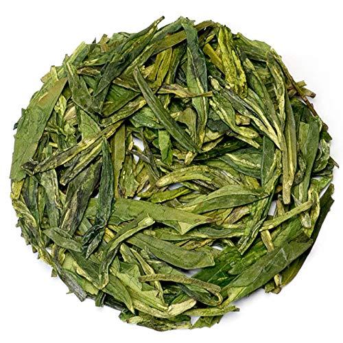 Teavivre Dragon Well Long Jing Green Tea Chinese Loose Leaf Tea - 3.5oz / - Tea Green Ching Dragon Well