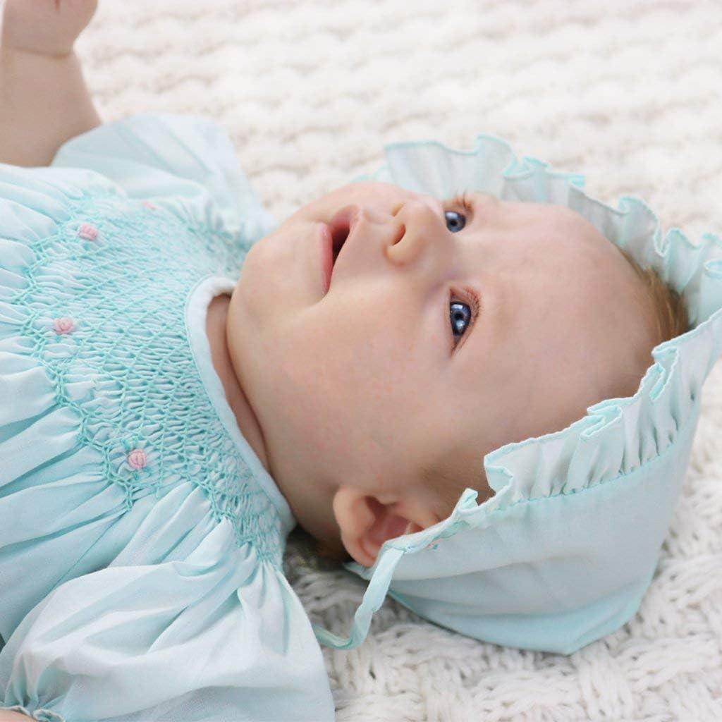Petit Ami Baby Girls Bishop Smocked Daydress