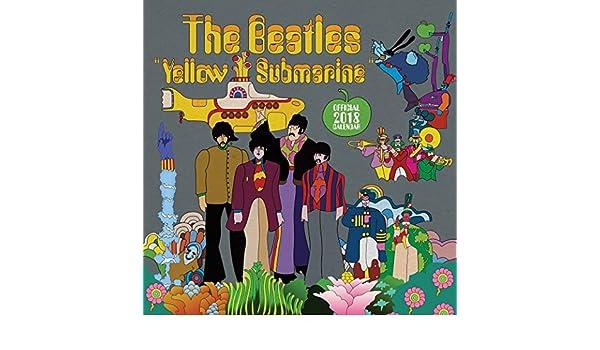 Calendario 2018 Beatles - Banda Mythique Inglés - The ...