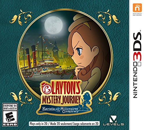 : LAYTON'S MYSTERY JOURNEY: Katrielle and the Millionaires' Conspiracy - Nintendo 3DS