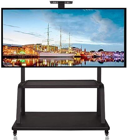 KSW_KKW Base de TV Soporte Vertical Caja de laminación for TV de Entre 40 y 75 Pulgadas LCD LED Pantallas de hasta 150 kg, Negro: Amazon.es: Hogar