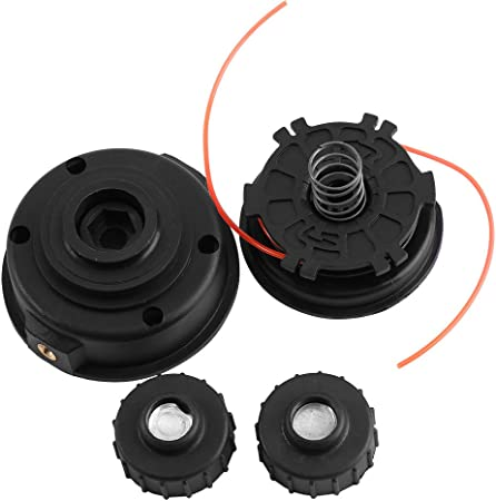 2Pack Universal Trimmer Head Weed Eater Bump Feed Line Spool Brush Cutter