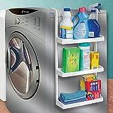 3-Tier Space Saving Storage Shelves - Hang Over Fridge Or Washing Machine (Kitchen)