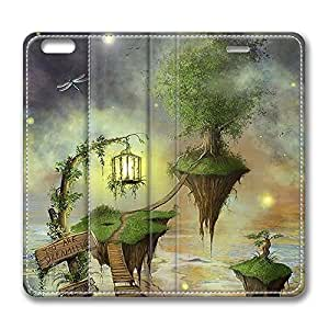 Brian114 6 Case, iPhone 6 Case - Ultra Slim Folio Flip Leather Case for iPhone 6 You Are Dreaming Fantasy Land Special Edition Leather Wallet Cover for iPhone 6 4.7 inch