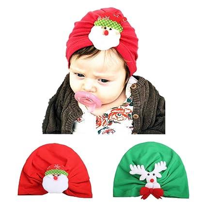 Vivianu Gorro de invierno cálido y suave para recién nacido, gorro ...