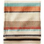 Pendleton Cotton Jacquard Coral Chimayo Blanket Queen