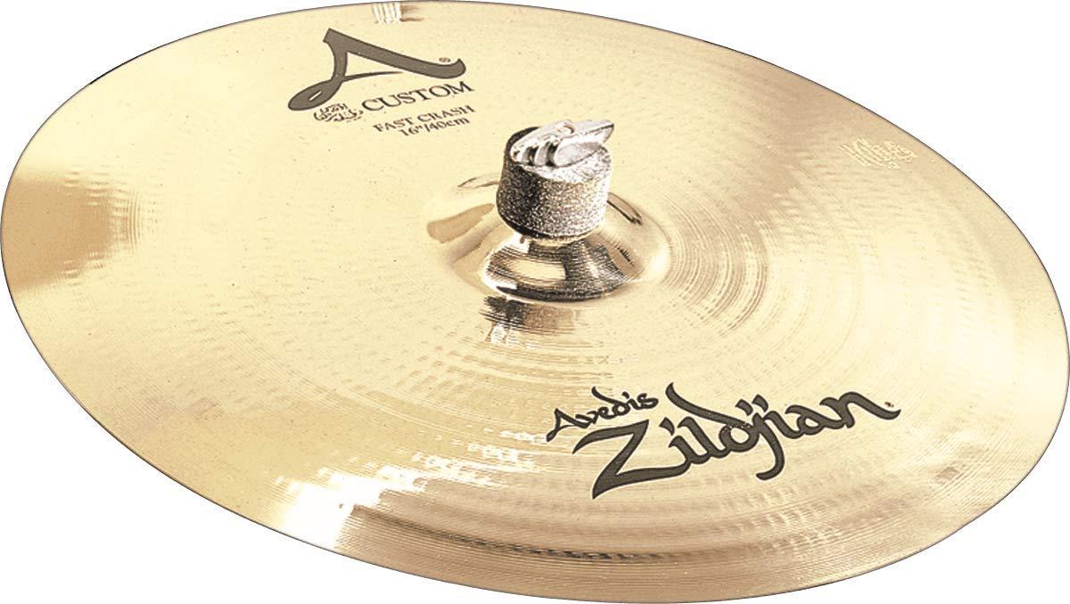 "B0002D08CA Zildjian A Custom 16"" Fast Crash Cymbal 61wSZfHooyL"