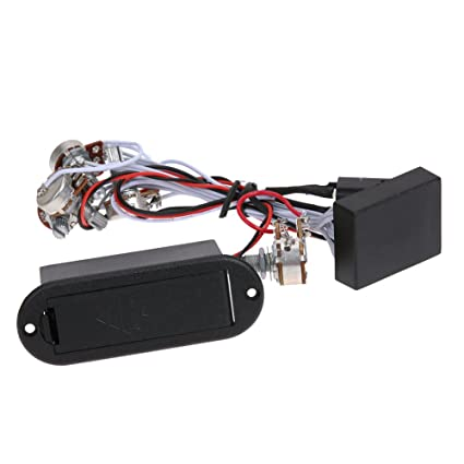 Amazon com: Domybest 3 Band Active EQ Preamp Circuit for