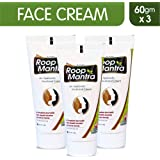 Roop Mantra Fairness Men's and Women's Face Cream, 60g (Pack of 3)