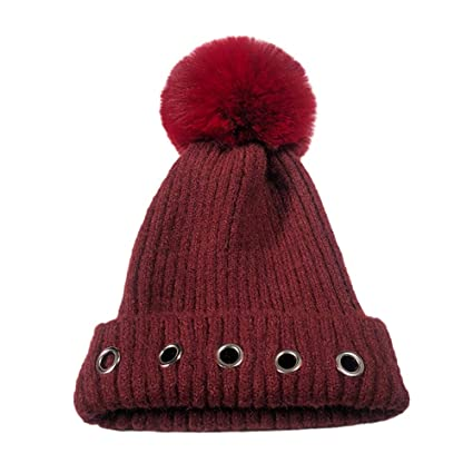01dc8ce3d0b Amazon.com  Gotian Knitted Wool Hat