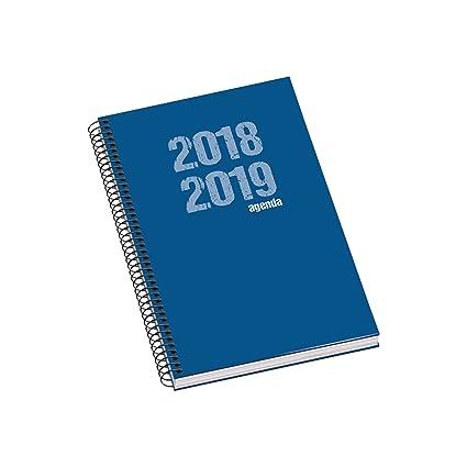 Dohe 10874 - Agenda escolar semana vista, color azul