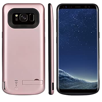 Funda Batería Samsung Galaxy S8 Battery Case 5000mAh Power Bank Carcasa Cargador Battery Recargable Externa Funda Ultra Fin Power Bank Battery Pack ...