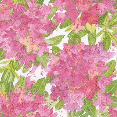 Entertaining with Caspari Shade Garden Luncheon Napkins Pink Pack of 20