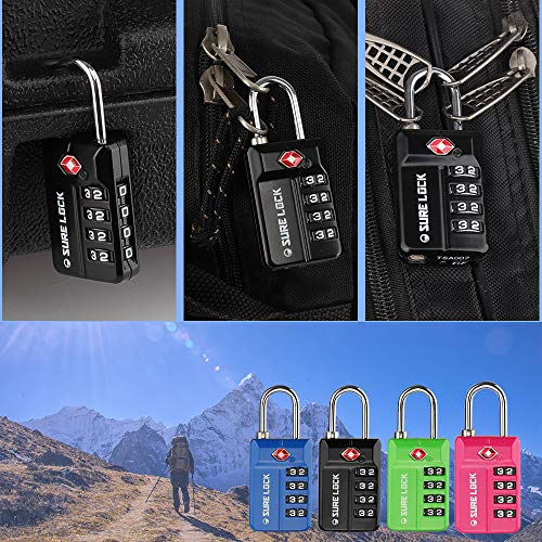 Buy luggage locks for international travel