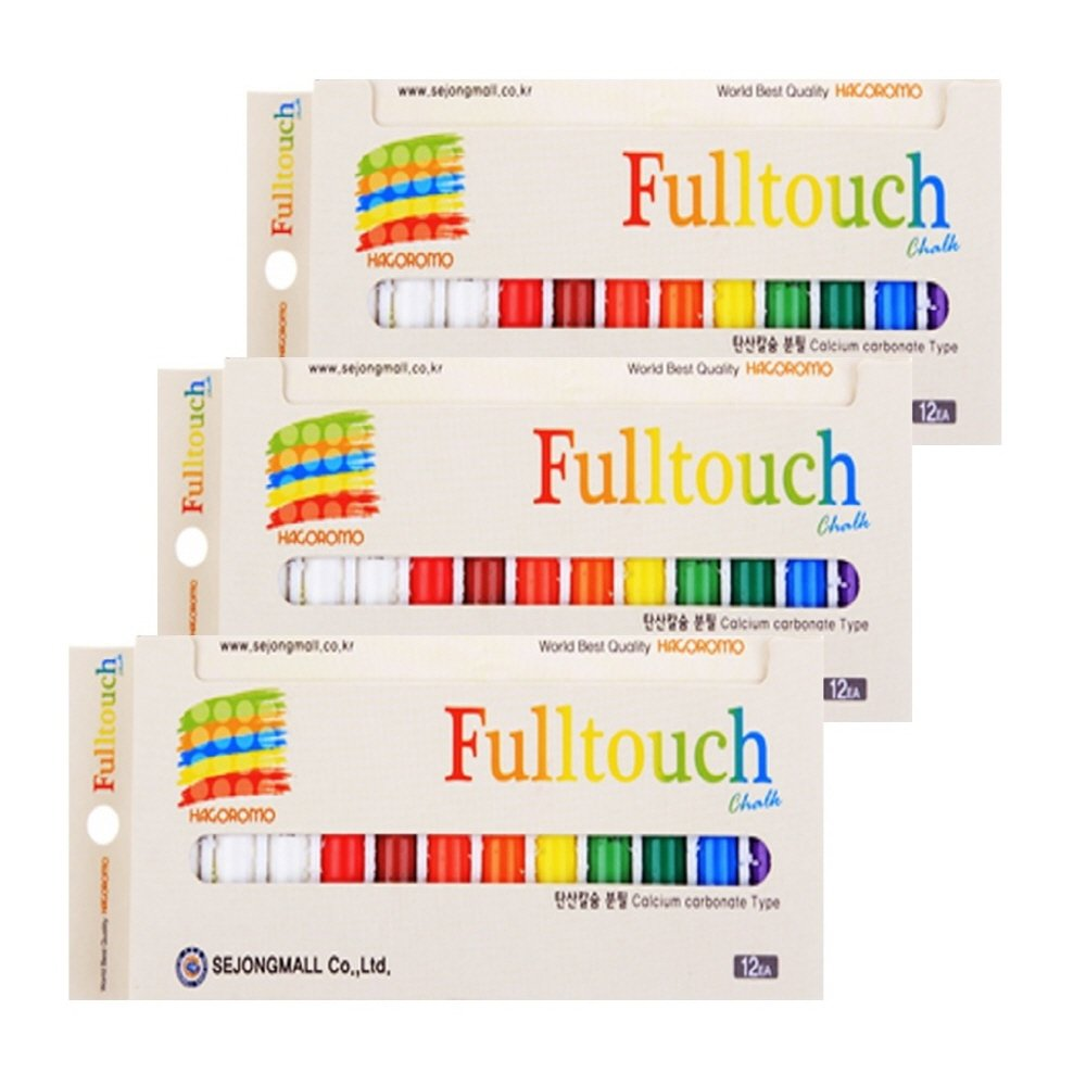 Hagoromo FULLTOUCH Mix 10-Color gesso (pacchetto Piccolo) (12pcs)3Box multicolore SEJONGMALL Co. Ltd