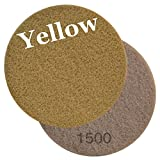 Viper Floor Maintenance Pad, 27-Inch, Yellow 1500 Grit, Pack of 2 (60663)