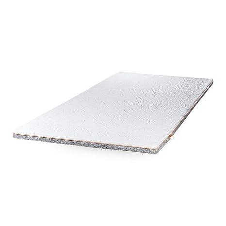 Jona Sleep Topper 90 x 200 cm látex, colchones de fundas Asiento Cama Invitados cama