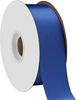 "product image for Berwick Offray 1.5"" Single Face Satin Ribbon, Royal Blue, 50 Yds"