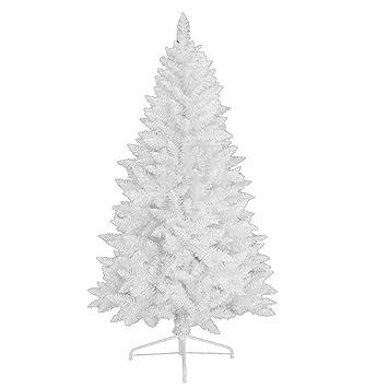 Weihnachtsbaum Plastik Weiß.Amazon De Rs Trade 1015 Weihnachtsbaum Künstlich Weiß 180 Cm ø Ca