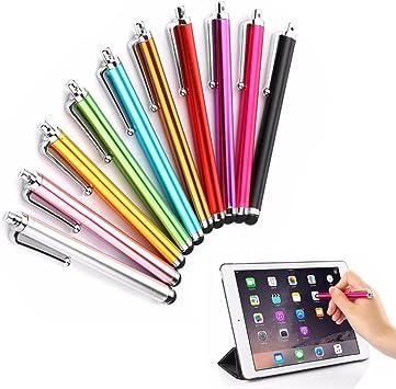 10 x milopon lápices capacitivos lápiz óptico stylus para iPad ...
