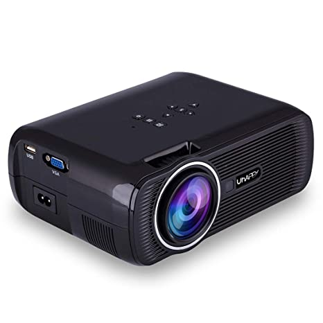 Amazon.com: SHJ Home Theater Proyector LED UHAPPY U80 Plus ...
