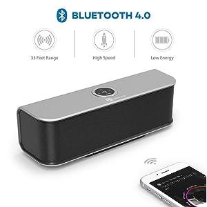 TaoTronics Stereo Bluetooth Speaker