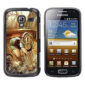 Be Good Phone Accessory // Dura Cáscara cubierta Protectora Caso Carcasa Funda de Protección para Samsung Galaxy Ace 2 I8160 Ace II X S7560M // sexy drawing girl butt house maid chic