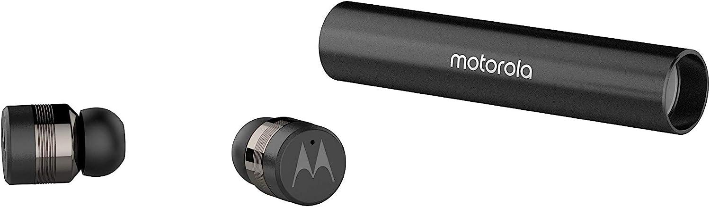 Motorola Lifestyle VerveBuds 300 - Auriculares Deportivos inalámbricos, Bluetooth 5.0, Auriculares Mono o duales y 10h, Compatible con Alexa, Siri y Google Assistant, Negro