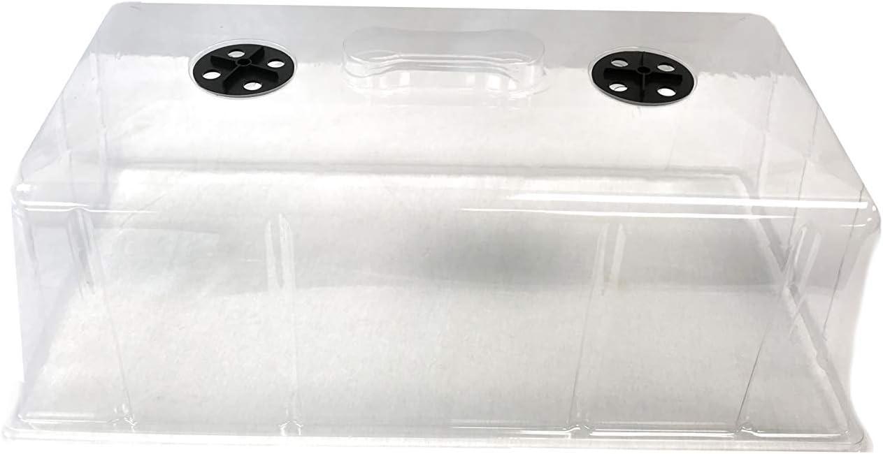 Viagrow VTD300-5 Clear Plastic Tall Dome (5 Pack)