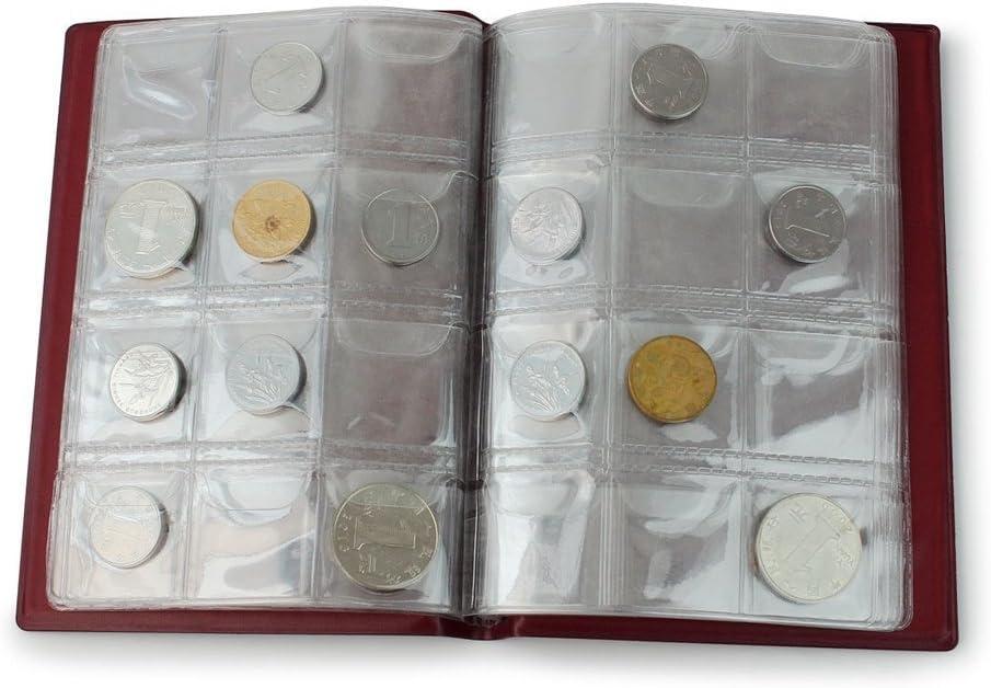 Shentian archivador para colección de Monedas (120 Compartimentos (Cubierta Inglés): Amazon.es: Hogar