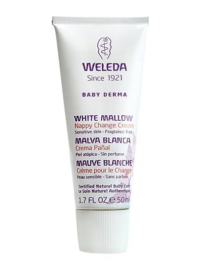 Weleda - Crema de pañal malva blanca 50 ml. de