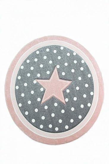 Carpetia Kinderteppich Spielteppich Babyteppich Madchen Runder