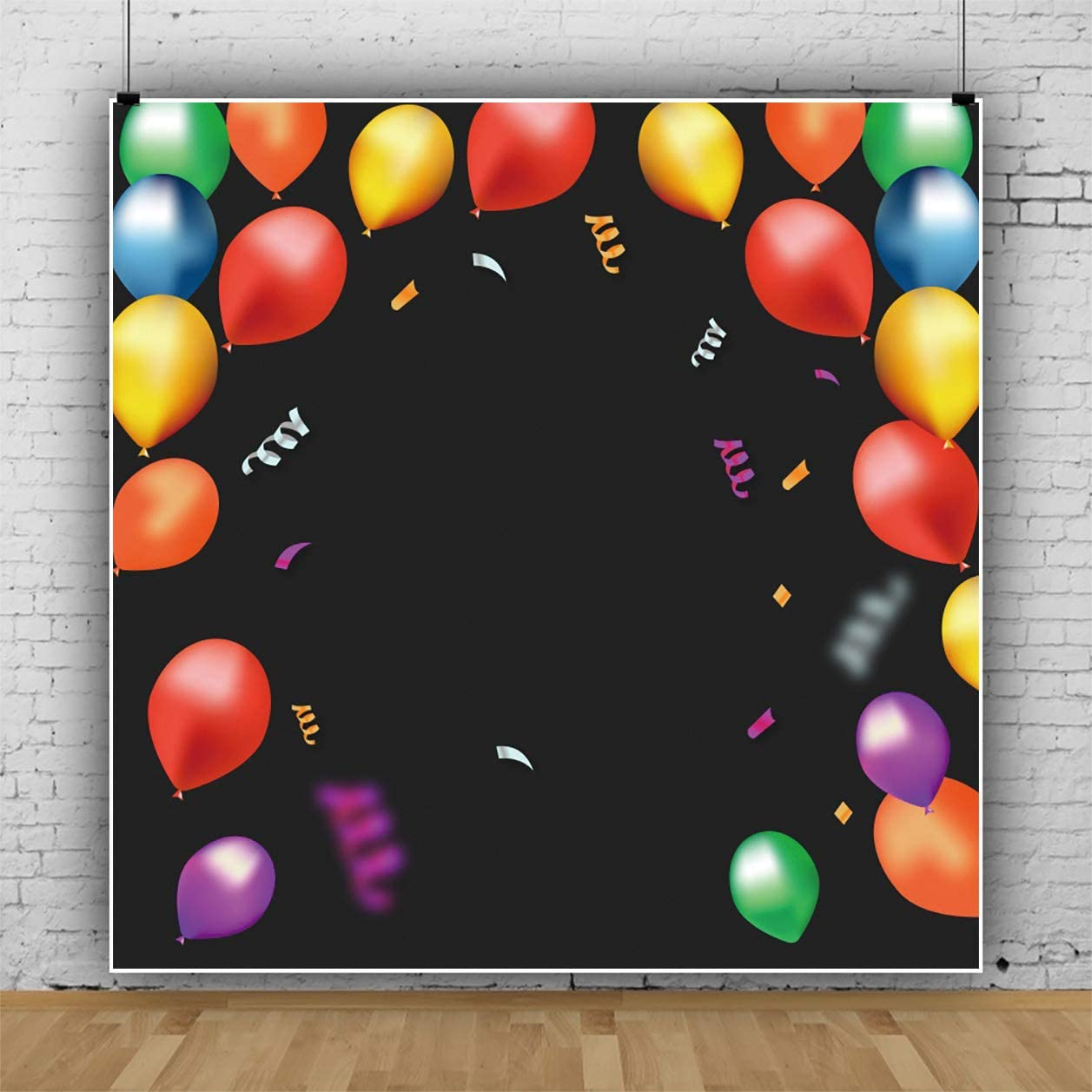 Yeele Colorful Balloons Photography Backdrop Lady Gentlemen Birthday Party Background 10x10ft Kids Adult Artistic Portrait Banner Room Decoration Photo Booth Photoshoot Props Wallpaper