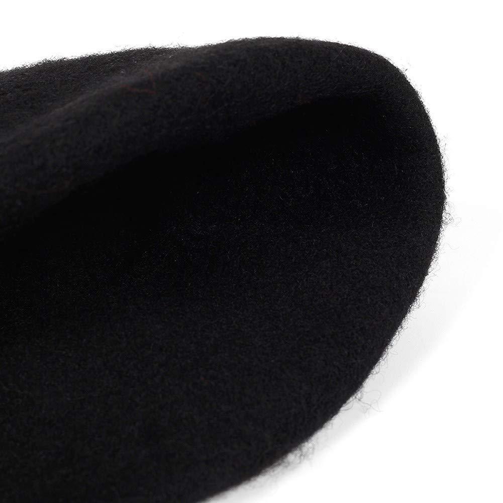 FDBQC Chapeau De B/éret De Fer De Style De Femmes Solides Chapeau De Fer Cerceau///Artiste Bonnet Chapeau De B/éret Punk