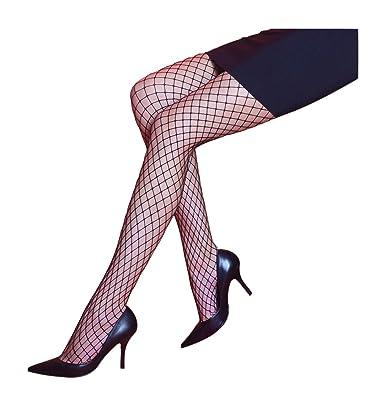 b1281c1b9cbce Silky Medium Fishnet Tights - Black Medium: Amazon.co.uk: Clothing