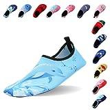 Laiwodun Chaussures d'eau Chaussures bébés Enfants Garçons Filles Chaussures d'eau Chaussures plage Piscine Surfer Yoga Unisexe