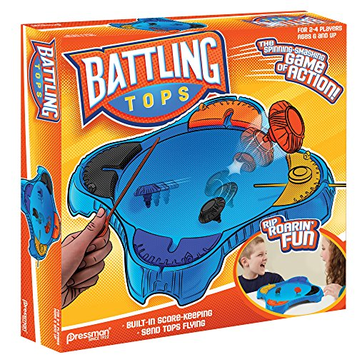 Pressman Toys Battling Tops Game 4 Player