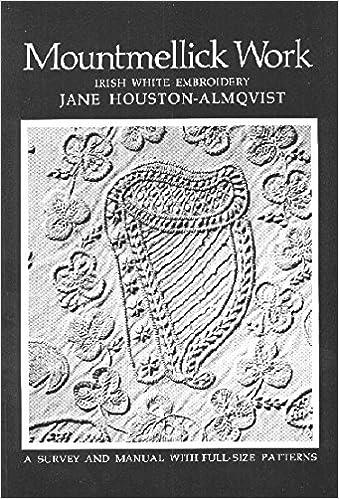 Mountmellick Work Irish White Embroidery Jane Houston Almqvist