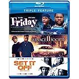 Friday / Menace II Society / Set It Off (Triple-Feature) [Blu-ray]
