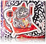 Dynomighty Men's Mighty Wallet Lucky Cat, Multi, One Size
