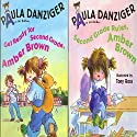 'Get Ready for Second Grade, Amber Brown' and 'Second Grade Rules, Amber Brown' Audiobook by Paula Danzinger Narrated by Dana Lubotsky