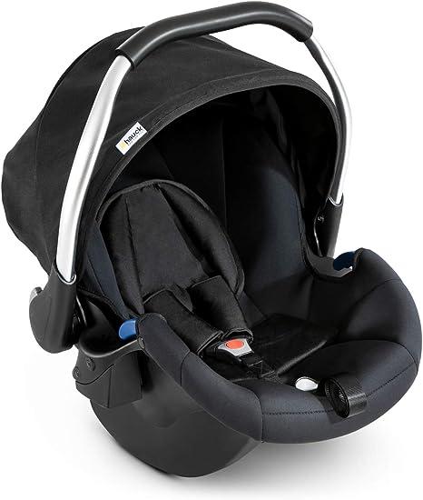 Hauck Comfort Fix, Silla de coche grupo 0+ Isofix, negro: Amazon ...