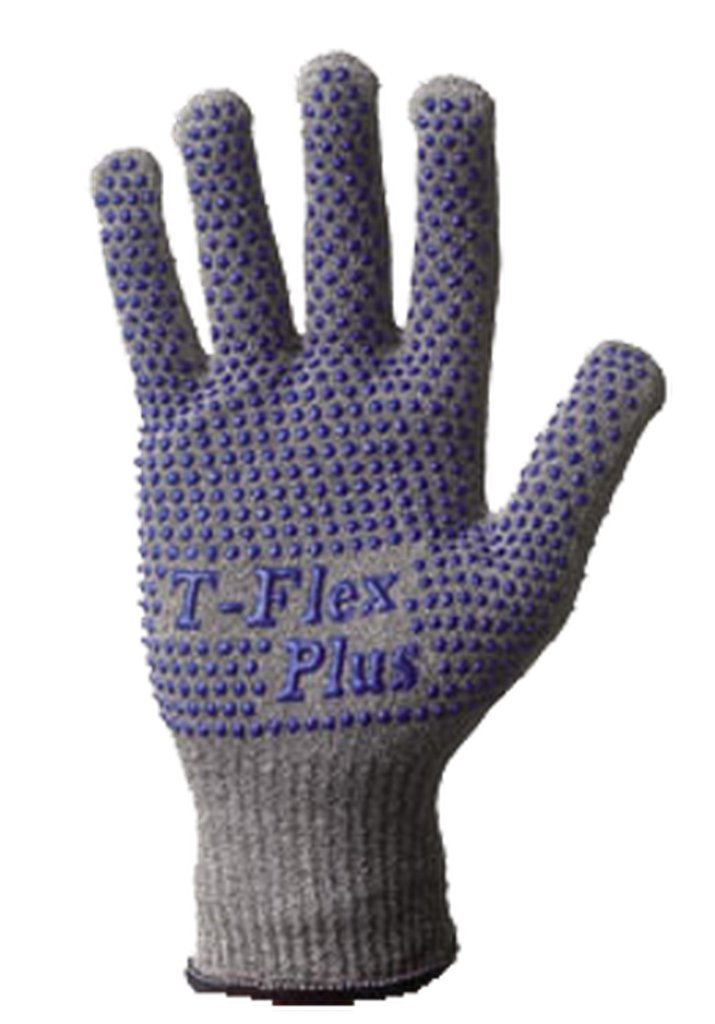 10.3 Length Plus 13 Gauge Seamless Thermax Lined Knit X-Large SHOWA 8113C T//Flex Dyneema Engineered Fiber Glove Cut Resistant Pack of 1 Glove
