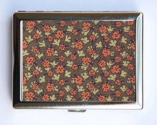 f16d41704eaf Amazon.com: Art Nouveau Ladybugs Case id case Wallet Business Card ...